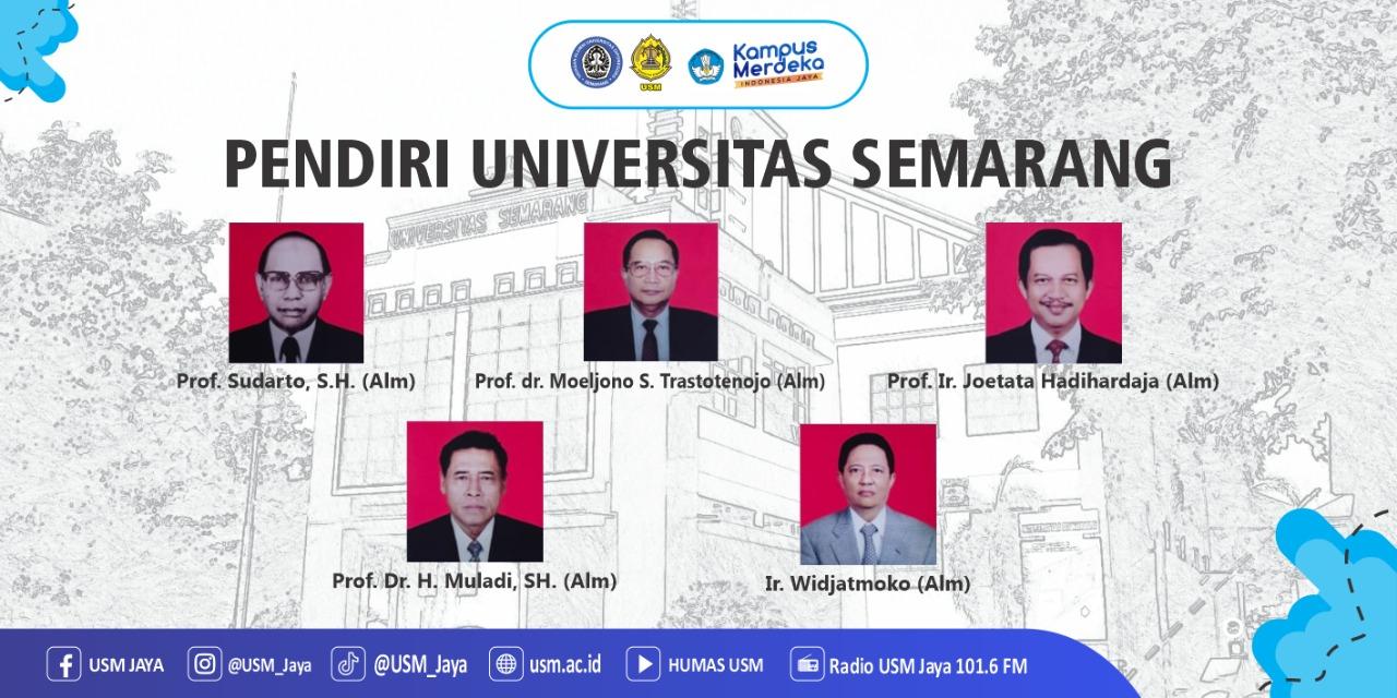 Pendiri USM Universitas Semarang